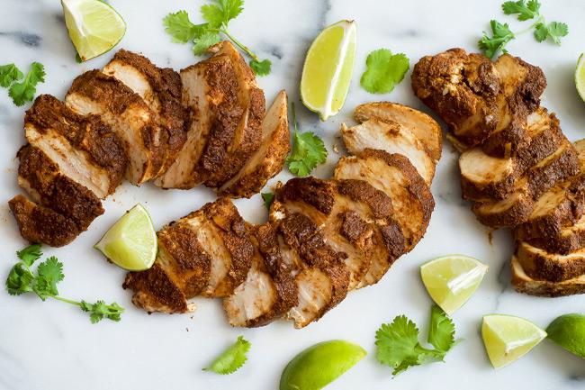 Цыпленок по-мексикански с лаймом