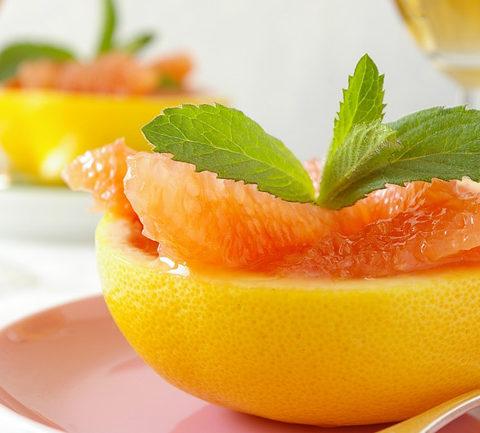 Австралийские половинки грейпфрутов