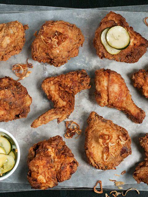 Цыпленок во фритюре