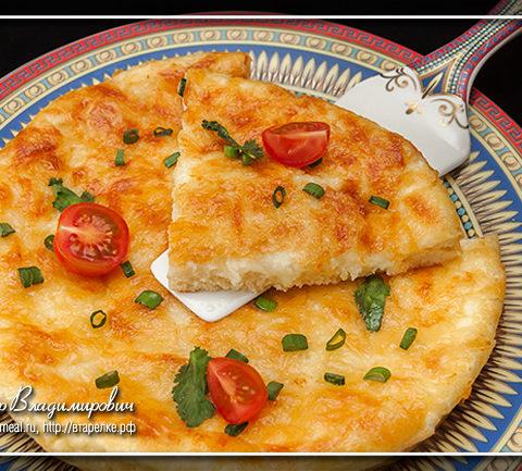 Борано - аджарский омлет с сыром