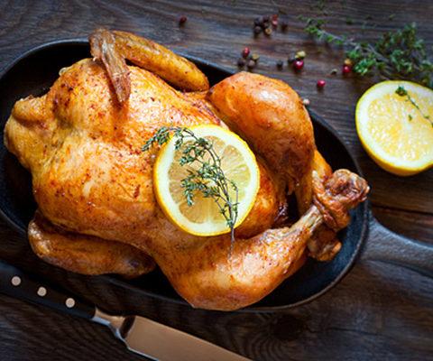 Идеальная курица в духовке