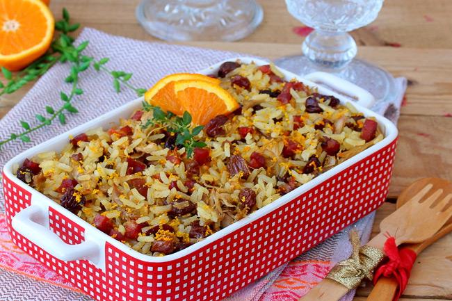 Утка с рисом по-португальски
