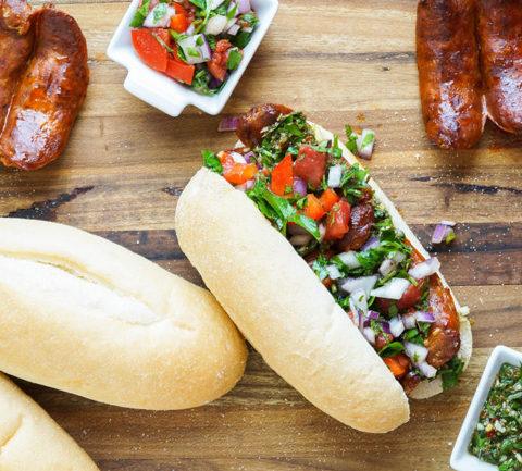 Чорипан аргентинский сэндвич