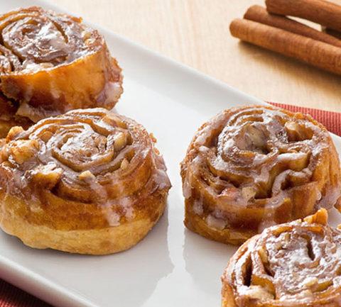 Булочки с корицей /cinnamon rolls/