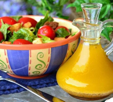 Классическая итальянская салатная заправка