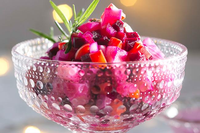 Росолли - финский салат из свеклы