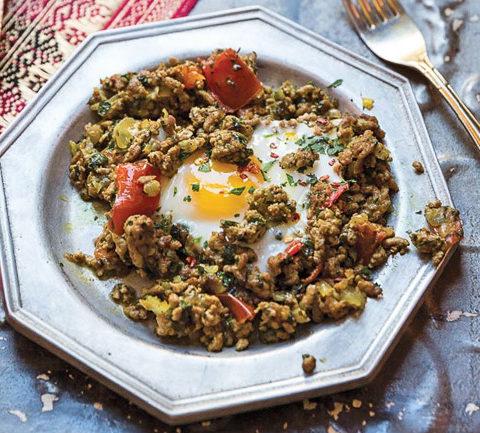 Вавилонский завтрак Makhlama Lahm