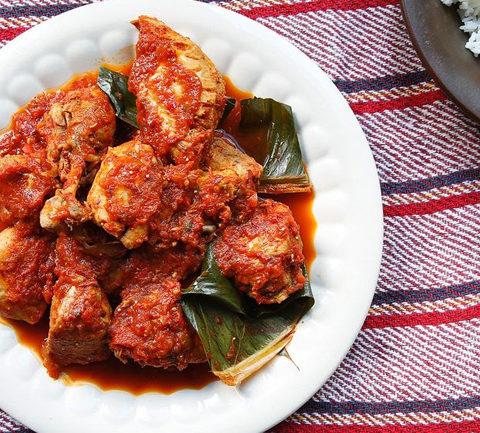 Чок'А. Тушеная свинина с соусом из кунжута и тыквенных семечек