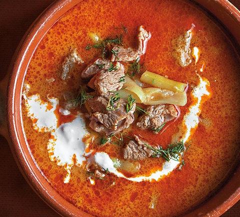 Палоцлевеш - густой венгерский суп из баранины