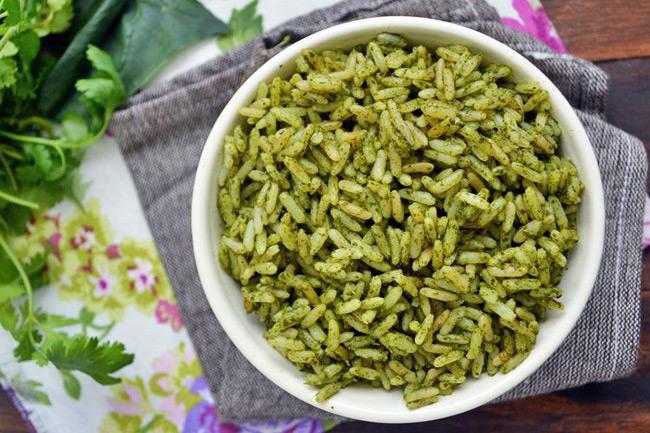 Зеленый рис
