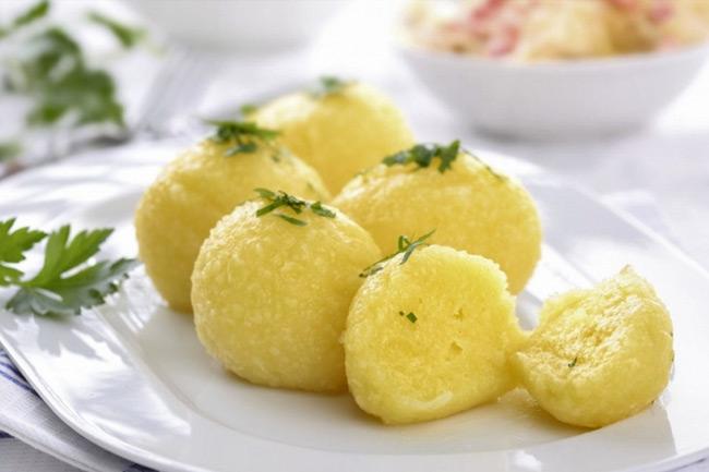 Австрийский картофельный кнодль