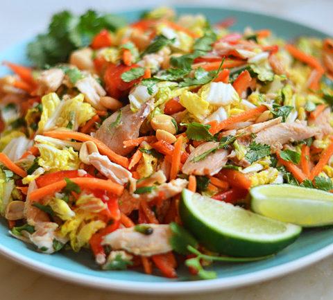 Вьетнамский салат из курицы