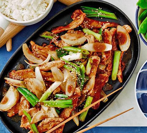 Курица по-монгольски
