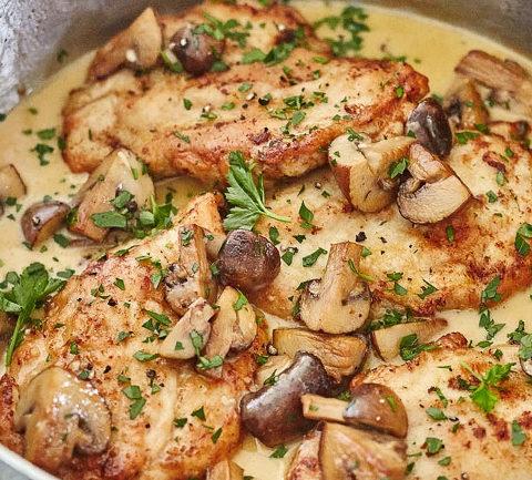 Цыпленок Марсала