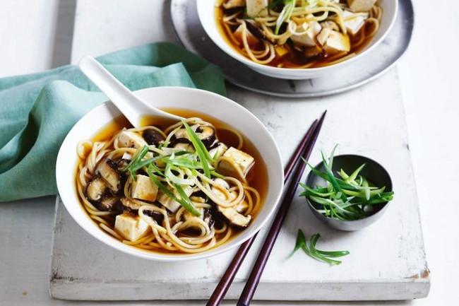 Мисо суп с лапшой за 15 минут