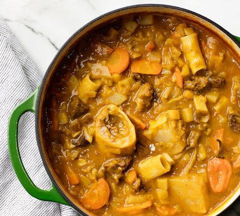 Тыквенный суп с говядиной - гаитянский суп свободы