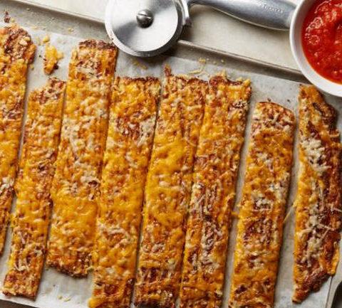 Палочки из цветной капусты и сыра