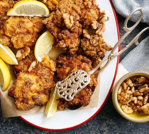 Жареный цыпленок по-персидски