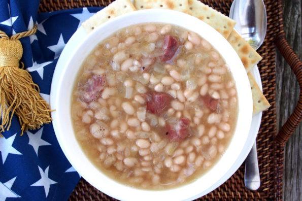 Знамениный фасолевый суп Сената США от Кнута Нельсона