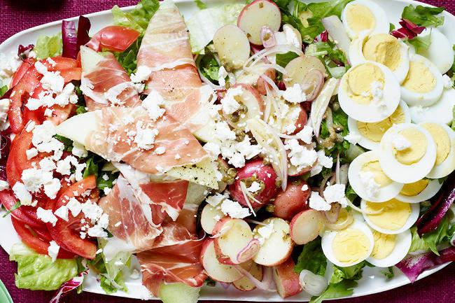 Итальянский салат от шефа